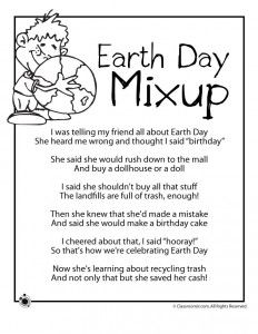 Fun Learning, Learning Activities, Activities For Kids, Teaching Ideas, Earth Day Poems, All About Earth, World Earth Day, Poetry For Kids, Earth Day Crafts