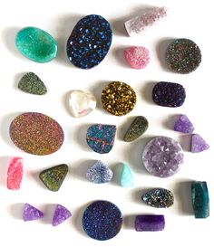 Natural gems, minerals and semi precious stones Minerals And Gemstones, Crystals Minerals, Rocks And Minerals, Stones And Crystals, Gem Stones, Love Rocks, Rocks And Gems, Spiritus, Rock Collection