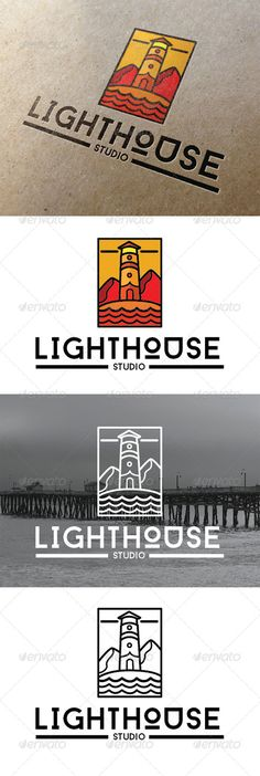 Lighthouse Studio Logo #graphicriver