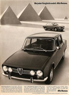 20 Incredible Vintage Alfa Romeo Ads And Posters