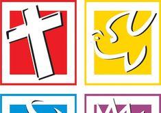 CORES E SIGNIFICADOS  Vermelho : A salvação pelo sangue de Cristo  Amarelo : O Batismo com o Espírito Santo / Jesus é aquele que batiza  Azu...