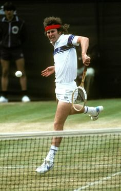 John McEnroe - Wimbledon 1981 I KNEW HIM AS THE SCREAMING MAN WHO ALWAYS SHOWED HIS ASS IN TENNIS