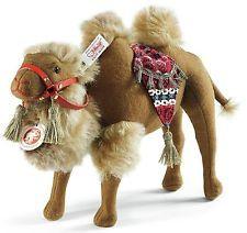 Steiff Karim permanente marrón camellos Fieltro De Lana 25cm Animal Salvaje Limited Ed 034183