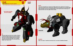 DINOBOT SLAG by ~F-for-feasant-design on deviantART