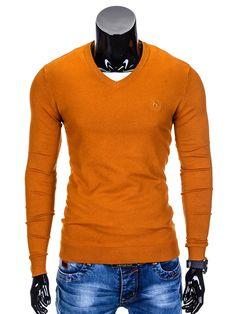 SWETER E74 - RUDY - Sklep Ombre Men Sweater, Sweaters, Fashion, Moda, Sweater, Fasion, Pullover, Fashion Illustrations