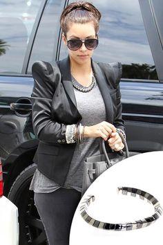 Belle Noel By Kim Kardashian Pharaoh Twist Cuff Bracelet