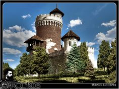 44 Turnul lui Tepes Beautiful Places, Urban, Mansions, House Styles, Blog, Places, Park, Manor Houses, Villas