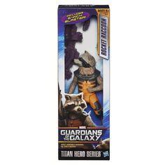 Guardians of the Galaxy ROCKET RACCOON Action Figure Titan Hero Series MINT.  But is it art?