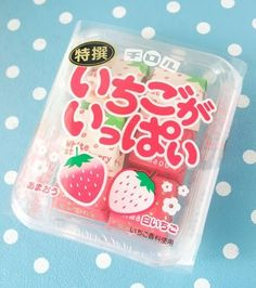 kawaii, pink, and sweet image Japanese Treats, Japanese Candy, Japanese Food, Cute Food, Yummy Food, Tasty, Japanese Packaging, Asian Snacks, Cute School Supplies