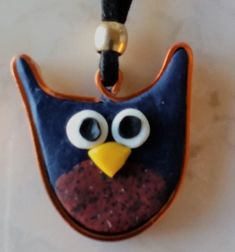 """Halskette Buho – Lederhalsband Mit Anhänger """"Eule"""" Etsy, Christmas Ornaments, Holiday Decor, Gallery, Crafts, Beauty, Art, Owl Jewelry, Special Gifts"""
