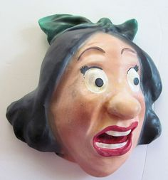 Vintage  Chalkware STRING HOLDER Ugly by TextilesandOldThings, $195.00
