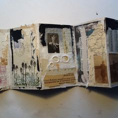 accordion book - front