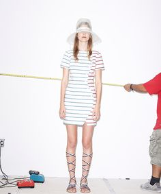 How To Wear Stripes When You're So Sick Of Stripes #refinery29  http://www.refinery29.com/band-of-outsiders