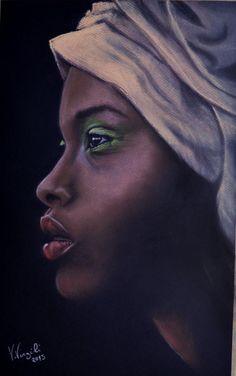 Girl Head Wrap 2 @GIGARTE.com