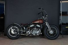 Lovely Harley Bobber entered into a competition as part of Deus Motorcycles' v-twin festival 2011.