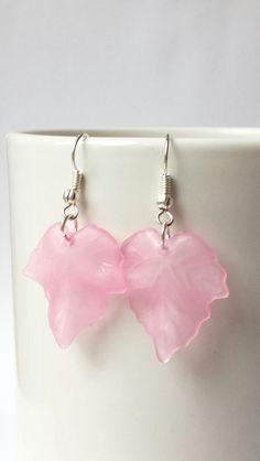 Leaf Earrings Dangle Earrings  Select Your by beausbitsandbobs, £4.00