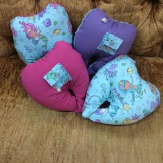 Mermaid Tooth Fairy Pillows only at The Captain's Mermaid Boutique