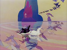 Fantasia-loved the songs and animation so much!