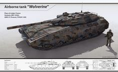 Wolverine - an attempt to make a full-fledged heavy tank. Development - a joint between the different countries-combatants of the Alliance of Nations. Combined multi-layered armor, accurate gun, powerful engine and high speed. Delivery on the battlefield...
