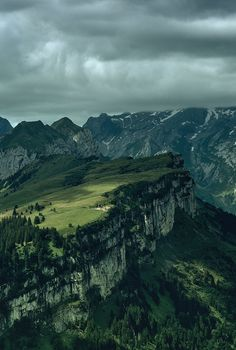 Alpstein are a subgroup of the Appenzell Alps in Switzerland