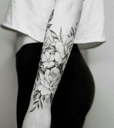 100+ Tattoo & Flower tattoo #TattooIdeasFlower