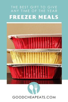 Freezer meals you can give as gifts are some of the best you can make. The stash in your freezer can bless your own family as well as other folks you want to bless from an elderly neighbor to a family with an new baby.