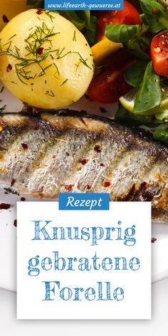 Diese knusprige Forelle aus der Pfanne ist leicht zuzubereiten und ein wahrer Genuss für Fischliebhaber und solche, die es noch werden wollen.