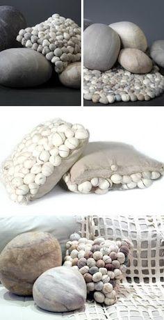 Viltkussens - rock pillows