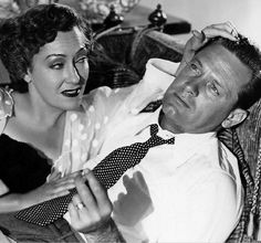Gloria Swanson and William Holden in a still from Sunset Boulevard 1950 by CharmaineZoe, via Flickr