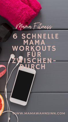 6 schnelle Mama Workouts für Zwischendurch, der perfekte Sport für Mütter. Pilates in der Küche, Beckenboden beim Zähneputzen, Hula Hoop Fitness und vieles mehr, kann neben den Kindern stressfrei erledigt werden. Lettering, Workout, Working Moms, Pilates, Hula Hoop, Fitness, Sport, Business, Pelvic Floor