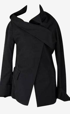 Yohji Yamamoto Black Jacket | VAUNTE