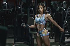 Paraguaia Fabíola Martinez quer voltar ao Brasil para competir no fisiculturismo - Foto: MF Models Assessoria