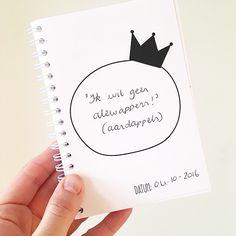 In dit boekje bewaar je de leukste uitspraken van jouw kindje! Bullet Journal, Memories, Quotes, Pictures, Diy, Memoirs, Quotations, Photos, Souvenirs