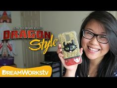 ▶ DIY Toothless Phone Case with Coolricebunnies ~ HTTYD fan art project in polymer clay | for DreamWorksTV | via YouTube