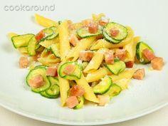 Penne Saporite alle zucchine e pancetta: le Vostre ricette | Cookaround