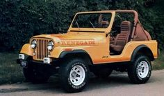 Jeep Wrangler Renegade 1982