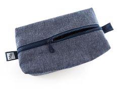 Handmade Denim Box Bag from maxandrosie.co.uk