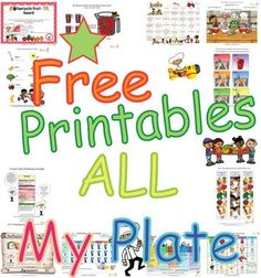 Fun+My+Plate+foods+learning+activities+for+kids-+Free+printable+My+Plate+Foods+teaching+series.