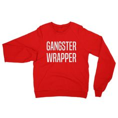 Gangster Wrapper Raglan sweater
