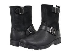 UGG Messner Black Leather - Zappos.com Free Shipping BOTH Ways
