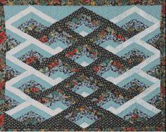A-Maze-Ing Quilt E-Pattern by Kaye Wood at KayeWood.com