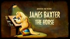 """James Baxter the Horse -  Adventure Time episode - made me laugh so hard :D  I've been saying """"James Baxter"""" like a horse all week!  LMAO"""