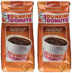 Dunkin Donuts Hazelnut Ground Coffee 12 Ounce Pack Of 2 * Want to know more, click on the image.