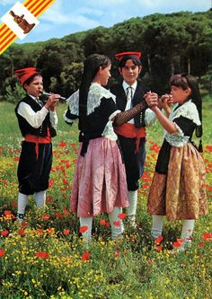 FolkCostume&Embroidery: Overview of the Folk Costumes of Europe, Andorra