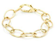 "Tiffany & Co. Charm Bracelet in 18k Yellow Gold 7.5"""