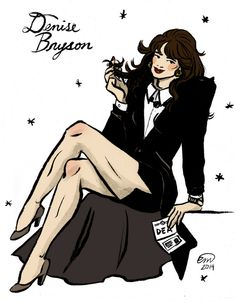 Pinup of David Duchovny as Denise Bryson from Twin Peaks