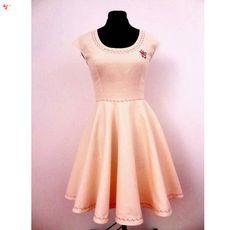 Vanilla Ice Crem Dress