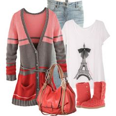Winter Fashion; except I really hate Ugg Boots...