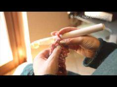 ▶ Punto Tunisi Maglia Rasata - YouTube