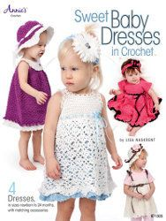 Sweet Baby Dresses in Crochet | AllFreeCrochet.com